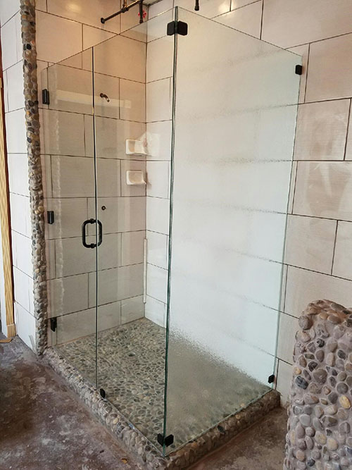 Custom Shower Enclosure by Keller Glass and Mirror