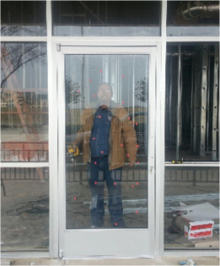 storefront glass installation
